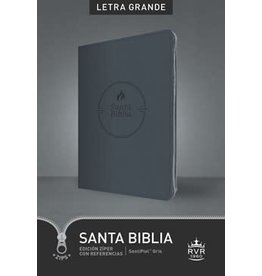 Santa Biblia - RVR60 - Referencia Ultrafina - Letra Grande - GRY Ziper