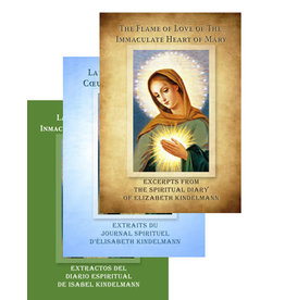 Flame of Love The Flame of Love: Excerpts from the Spiritual Diary of Elizabeth Kindelmann (Paperback)