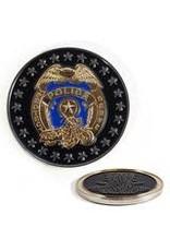 Thin Blue Line USA Challenge Coin - Officer's Prayer
