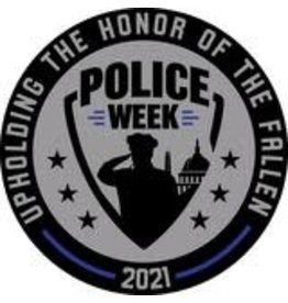 Thin Blue Line USA Limited Edition Police Week 2021 Patch