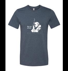 Sock Religious Be not afraid - St. John Paul II - T-shirt Large