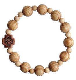Rosary Bracelet  Wood 10mm