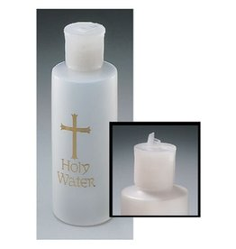 CBC - A Holy Water Bottle with Gold Cross