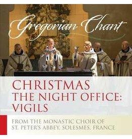Paraclete Press Christmas The Night Office: Vigils -  Gregorian Chant CD