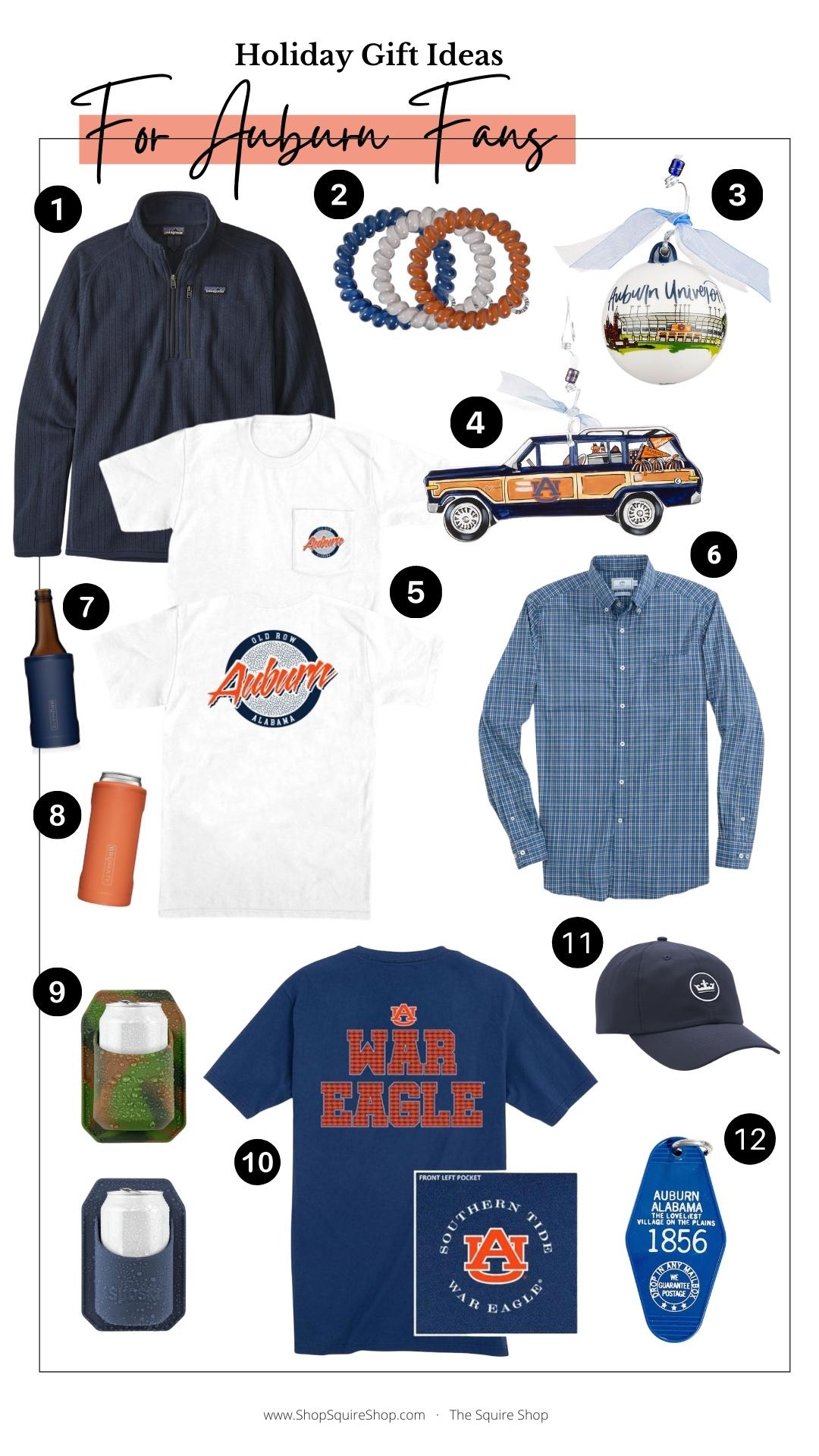 Auburn Fan Gift Guide
