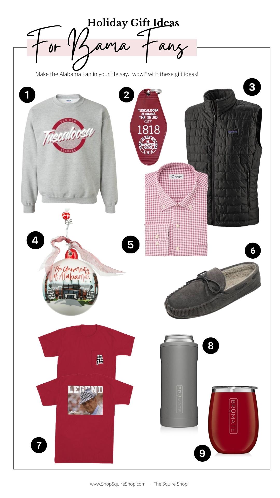 Alabama Fan Gift Guide
