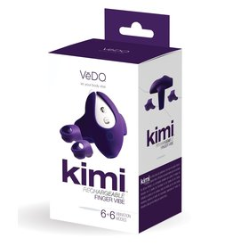 Kimi Rechargeable Finger Vibe 6 modes