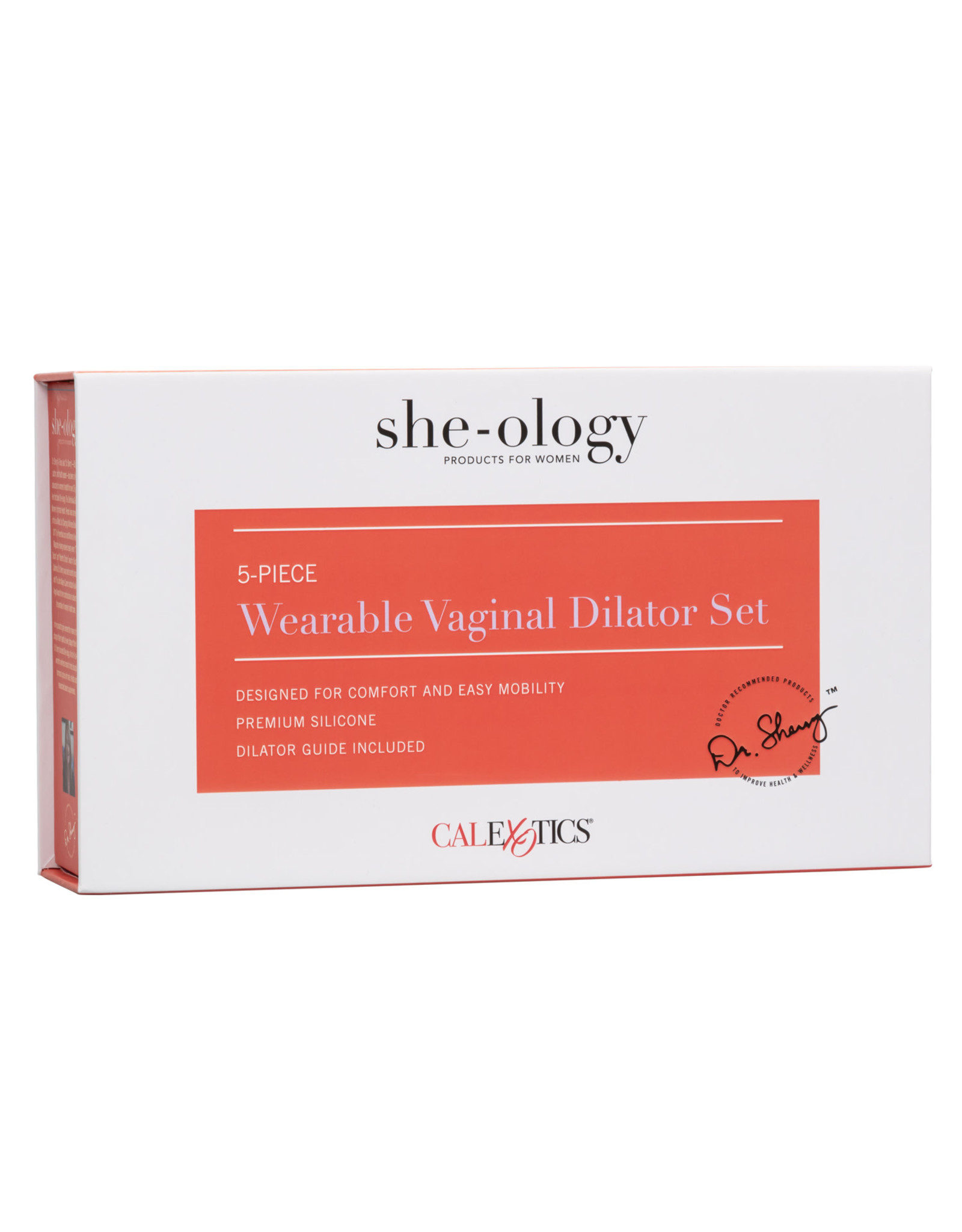 Calexotics She-ology 5 Piece Wearable Vaginal Dilator Set