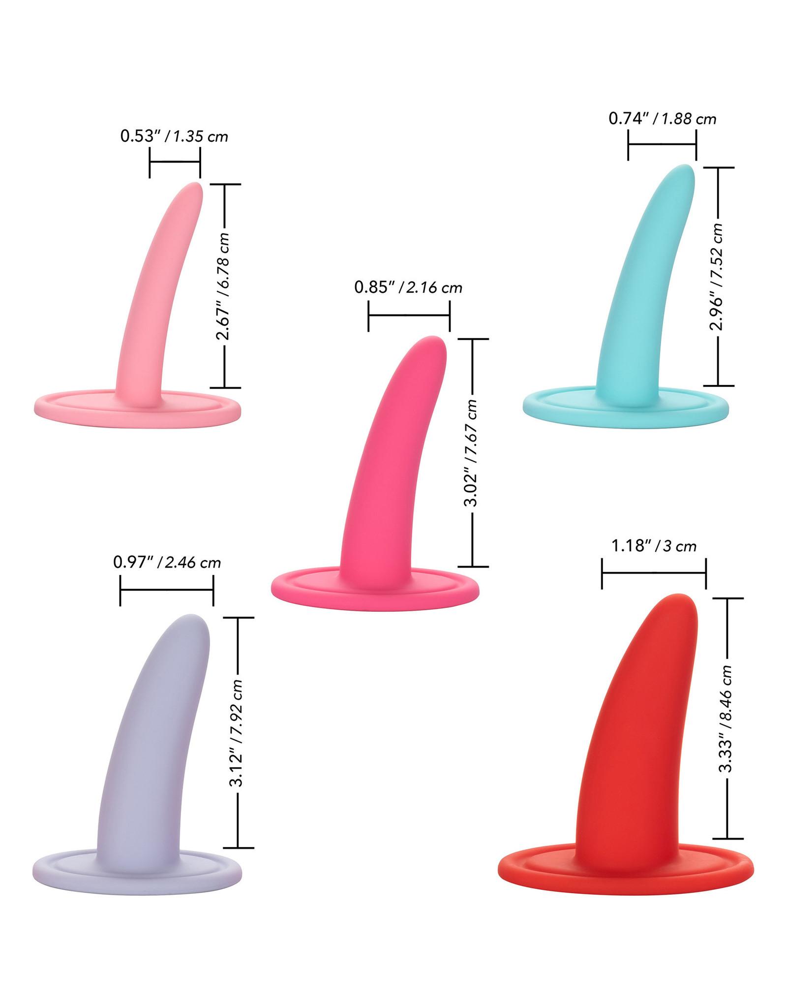 California Exotics She-ology 5 Piece Wearable Vaginal Dilator Set