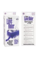 Calexotics Silicone Love Rider Hipster Harness with Probe