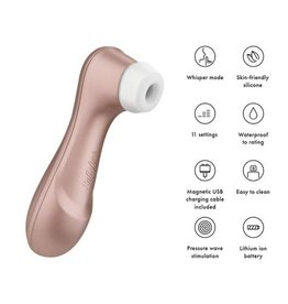 Satisfyer Satisfyer Pro 2 Next Generation Rose Gold