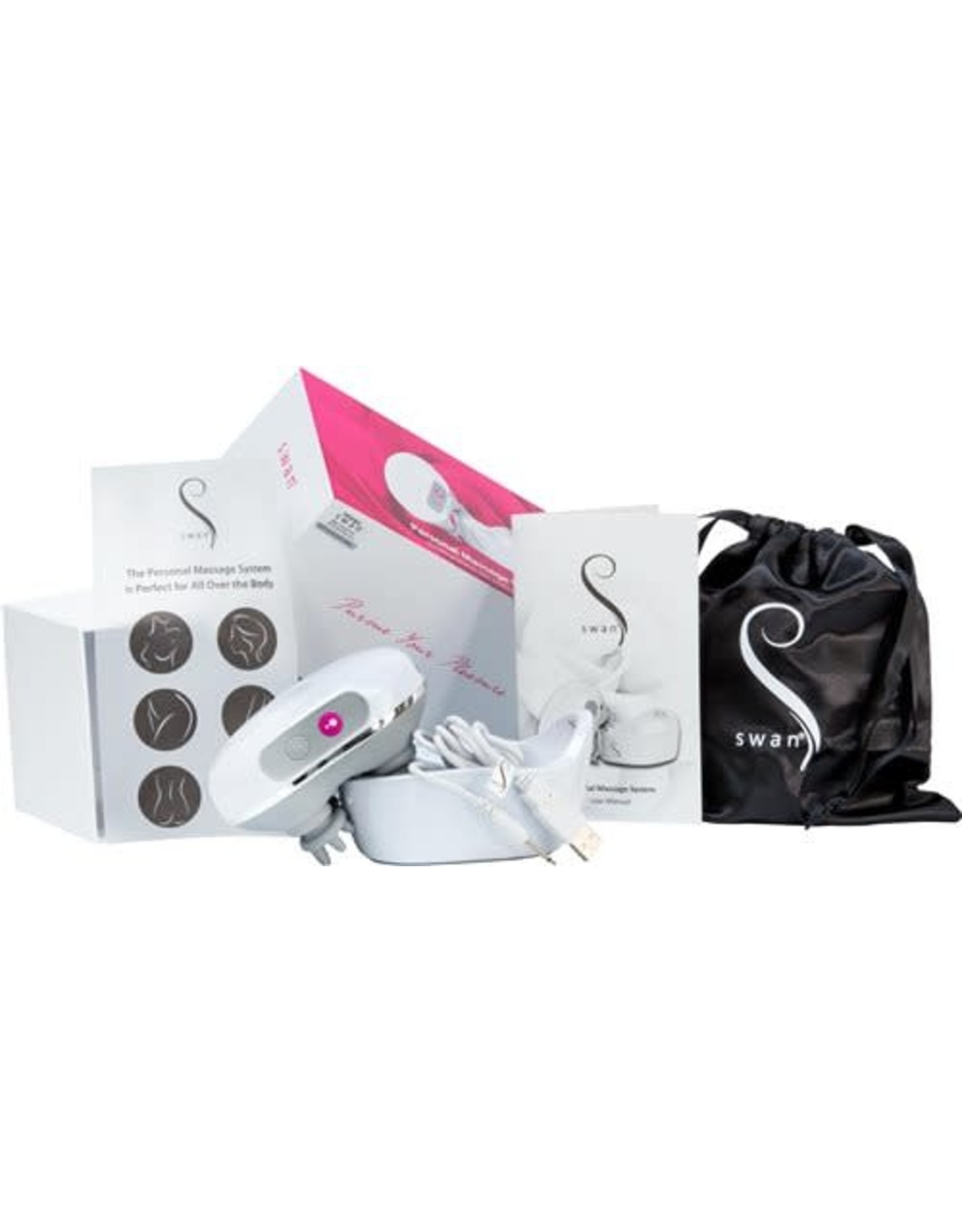 Swan Swan Personal Massage System with USB Charging Cord