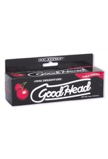 Doc Johnson Good Head Oral Delight Gel - Wild Cherry (4 oz)