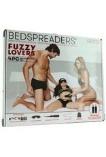 Lux Fetish Fuzzy Lovers 4PC BedSpreader