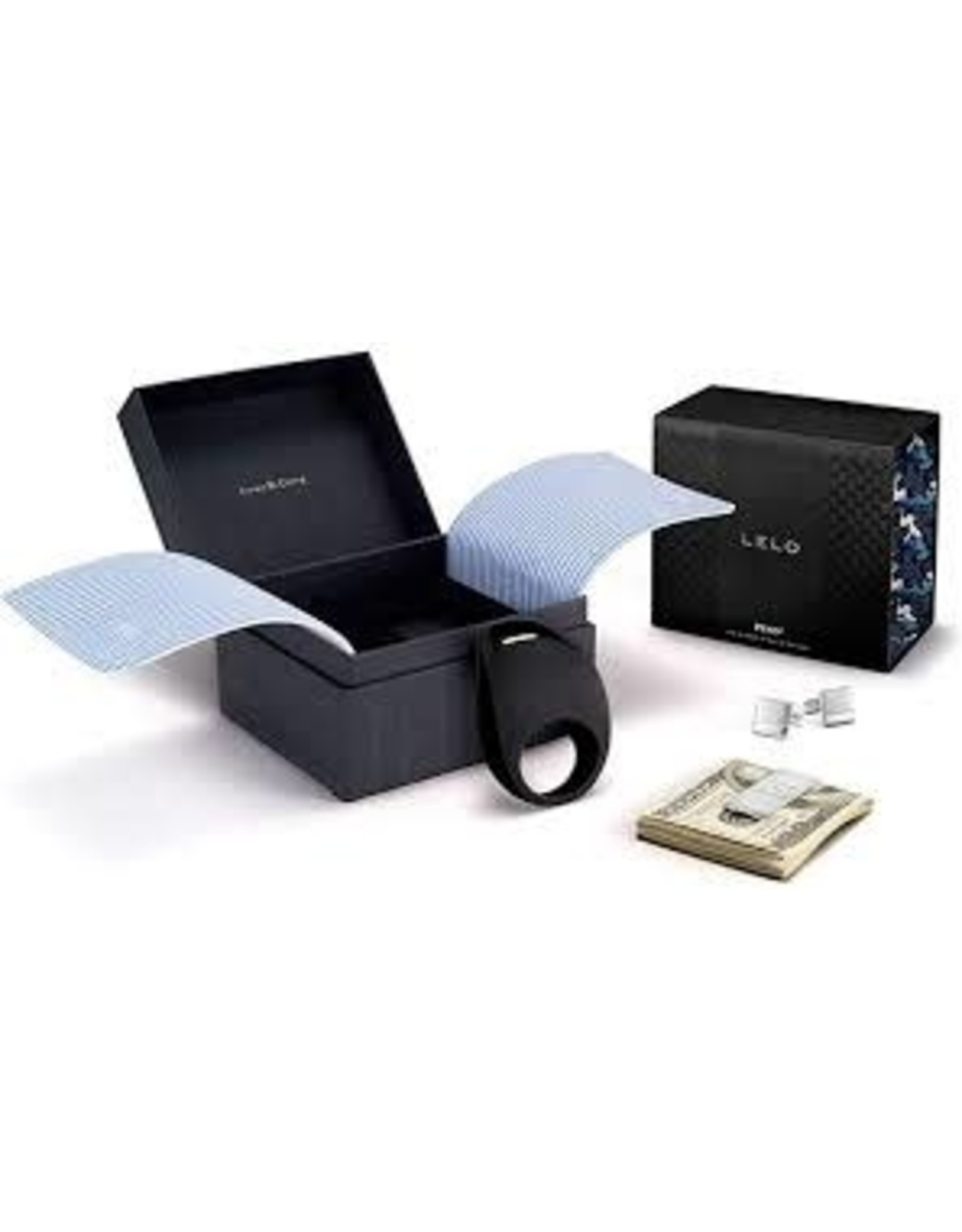 LELO Lelo Pino Couples Ring with Cuff links