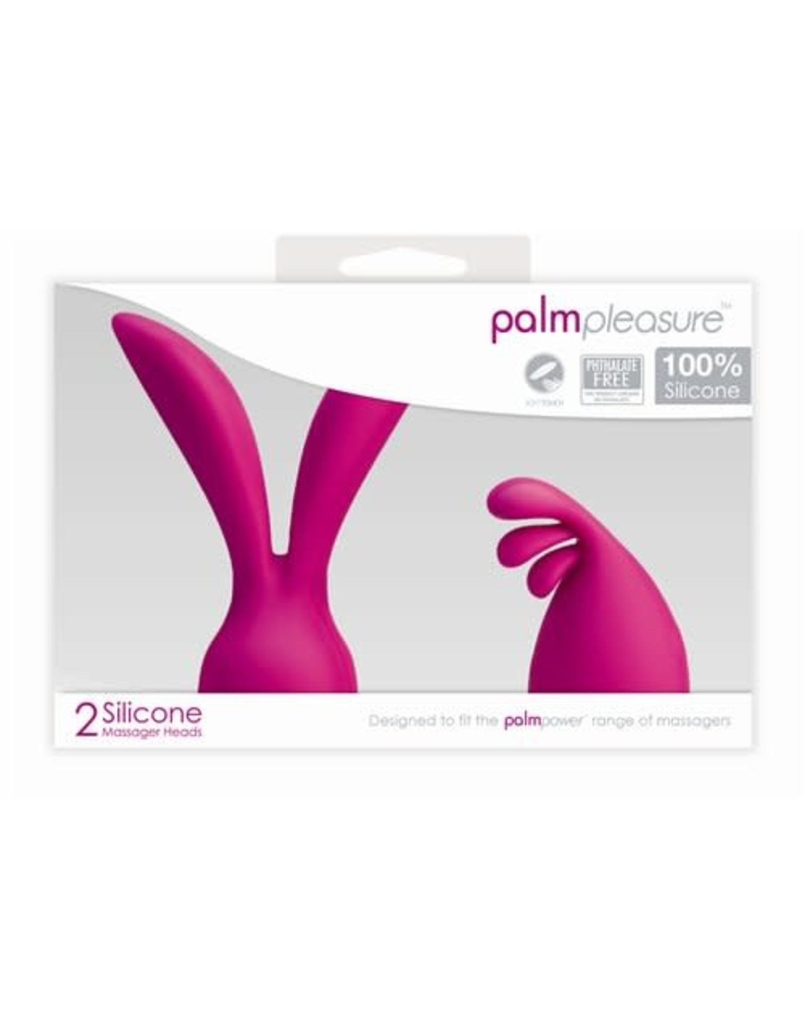 Palm Power Palm Power Palm Pleasure 2 Silicone Massager Heads