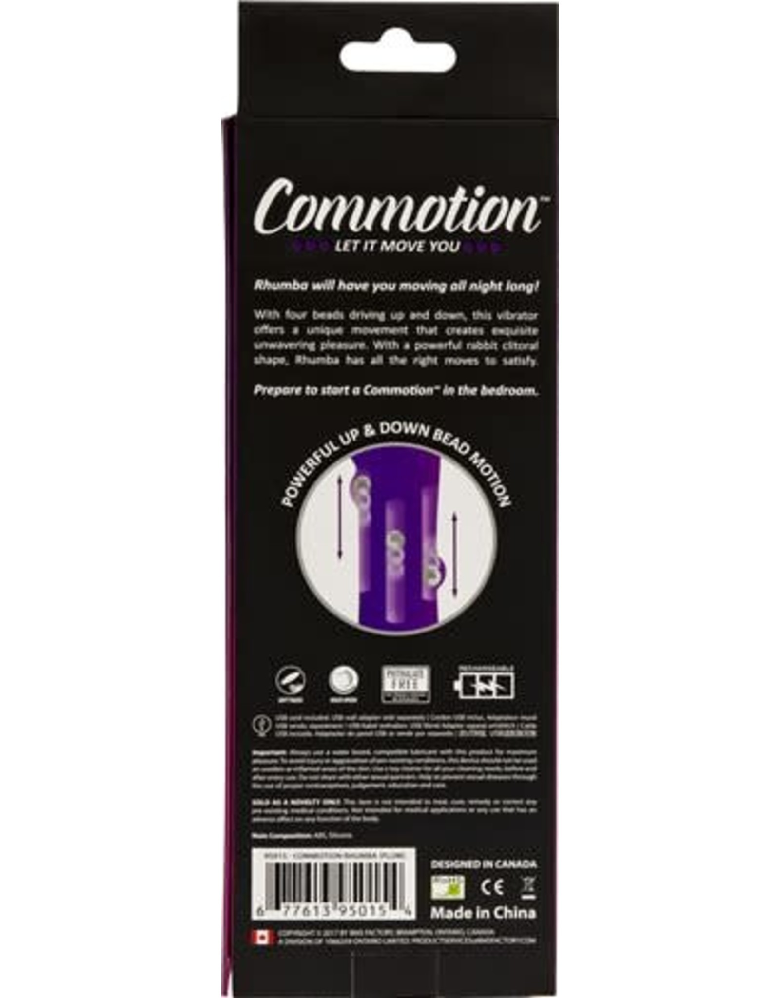 Commotion Rhumba Purple