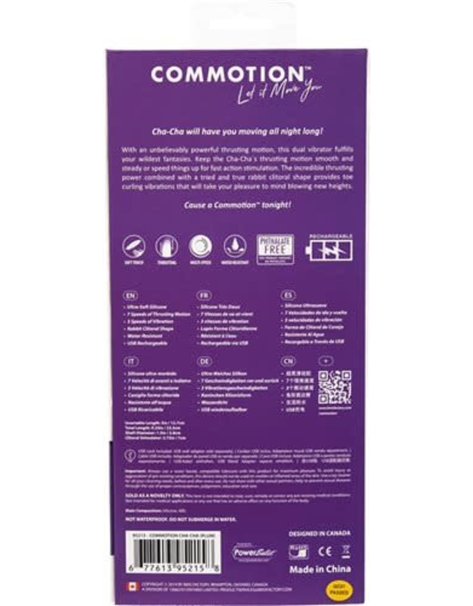 Commotion Commotion Cha-Cha Plum