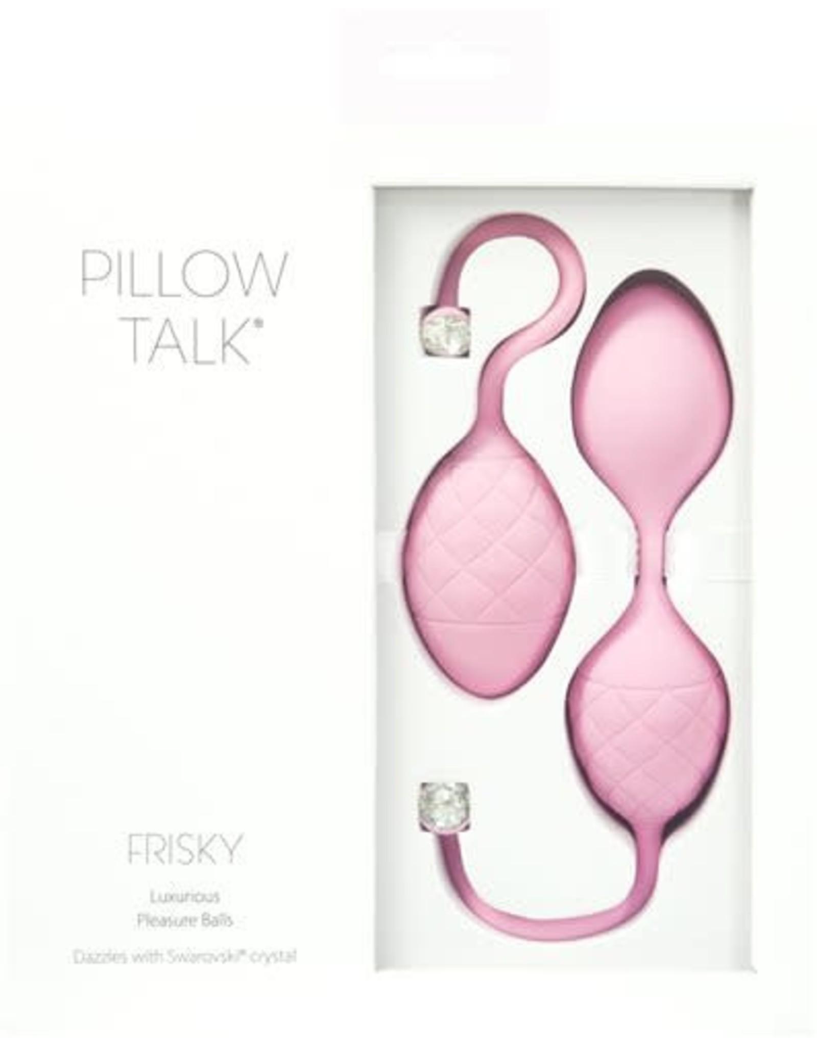 Pillow Talk Pillow Talk Frisky Luxurious Pleasure Balls (pink)