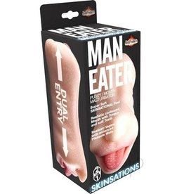 Hott Products Man Eater - 2 in 1 Masturbator