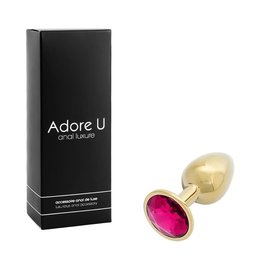 Adore U Adore U Anal Luxure Gold Small Pink