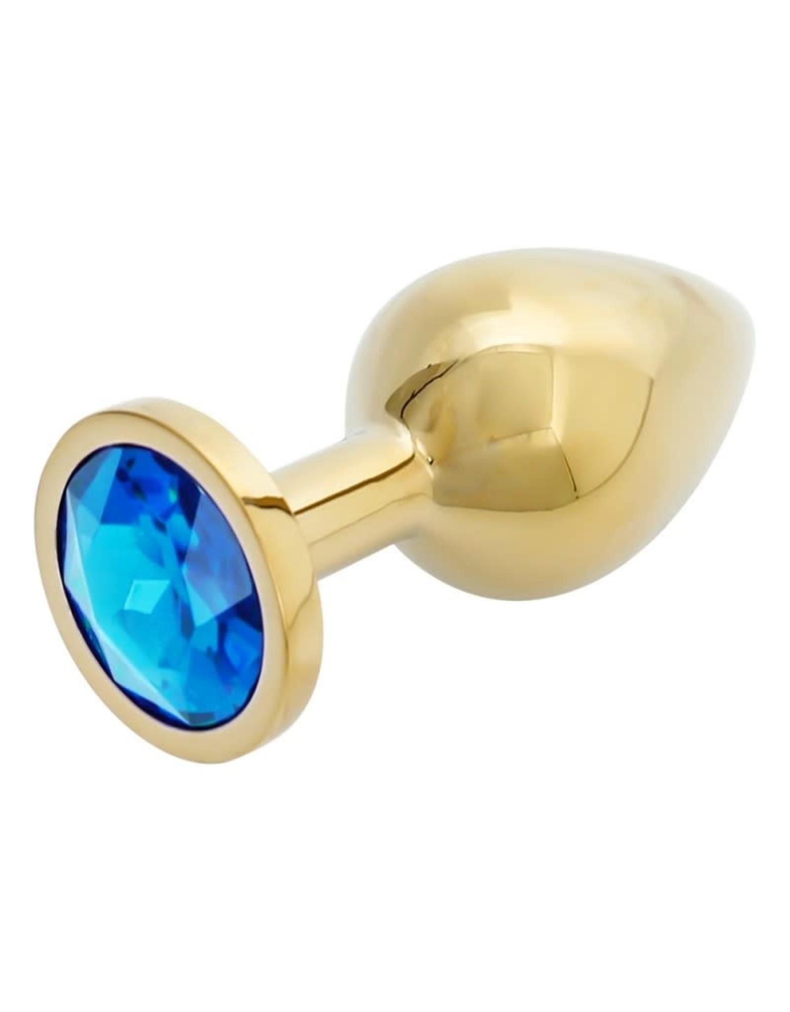 Adore U Adore U Anal Luxe Gold Blue Medium