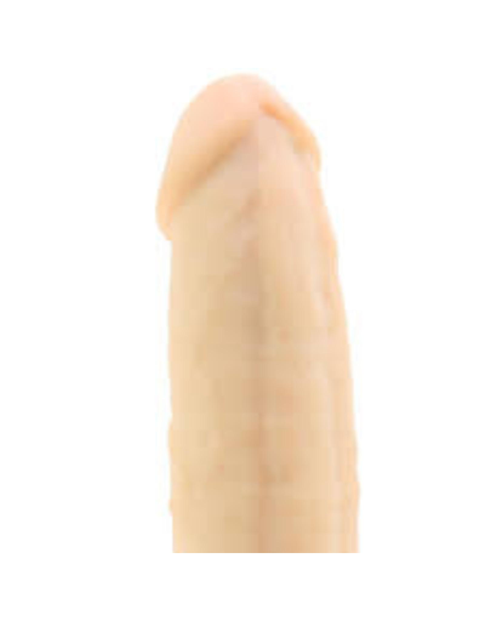"""RealRock Silicone Dildo 6"""" (flesh)"""