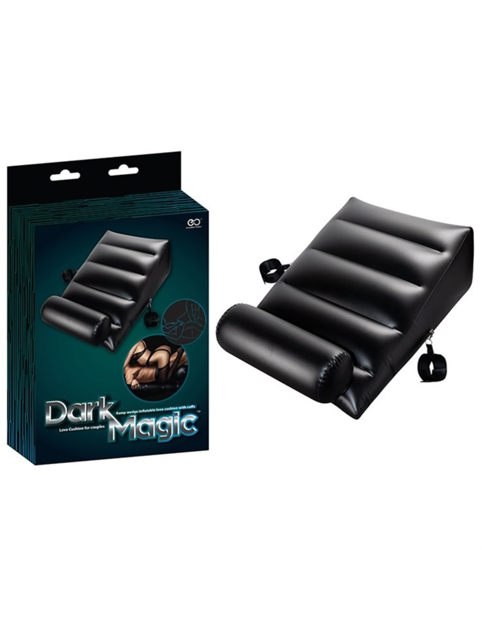 SD Variations Dark Magic - Love Cushion For Couples