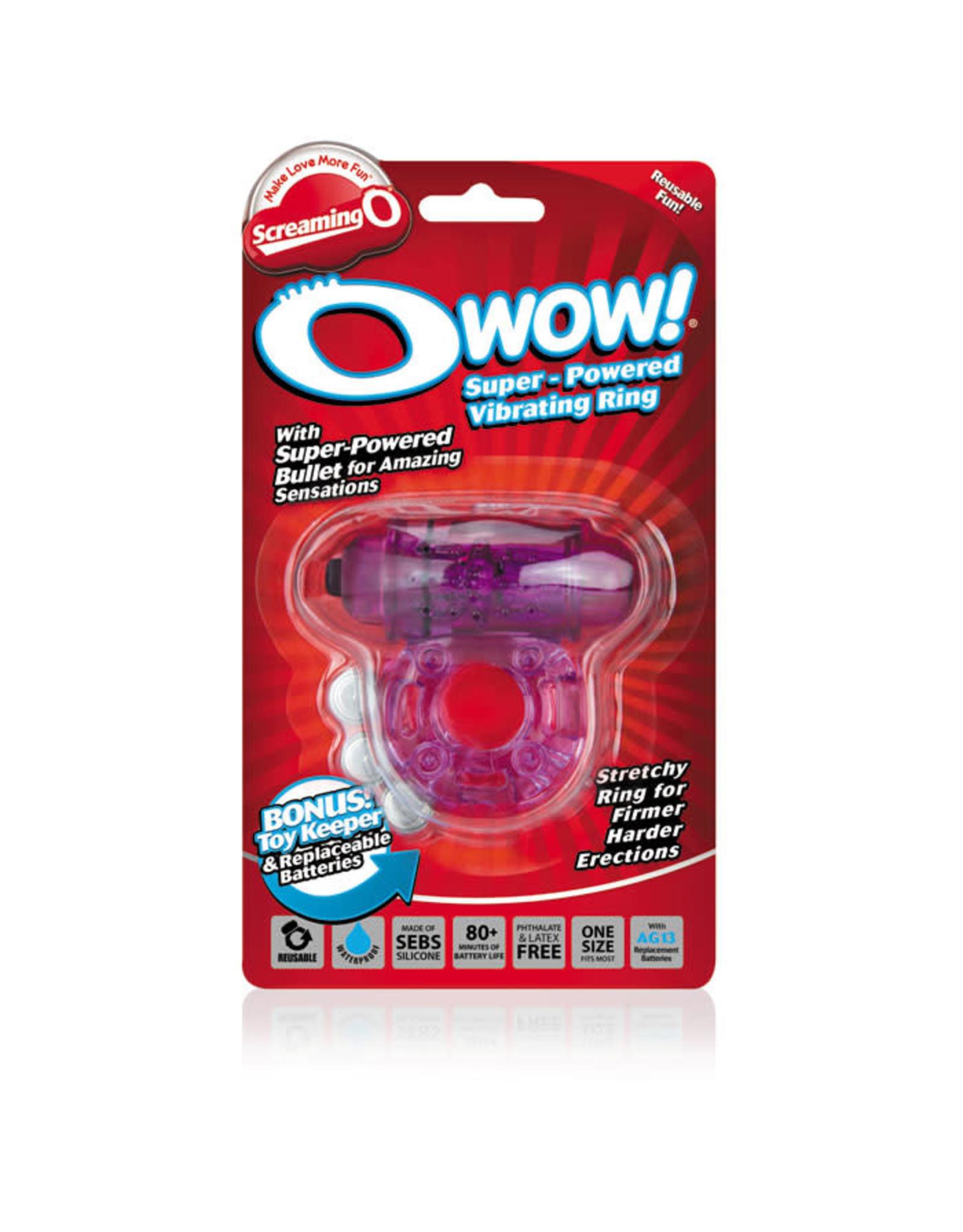 Screaming O O Wow Super Powered Vibrating Ring