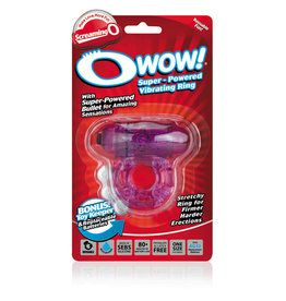 Screaming O O Wow Super Powered Vibrating Ring