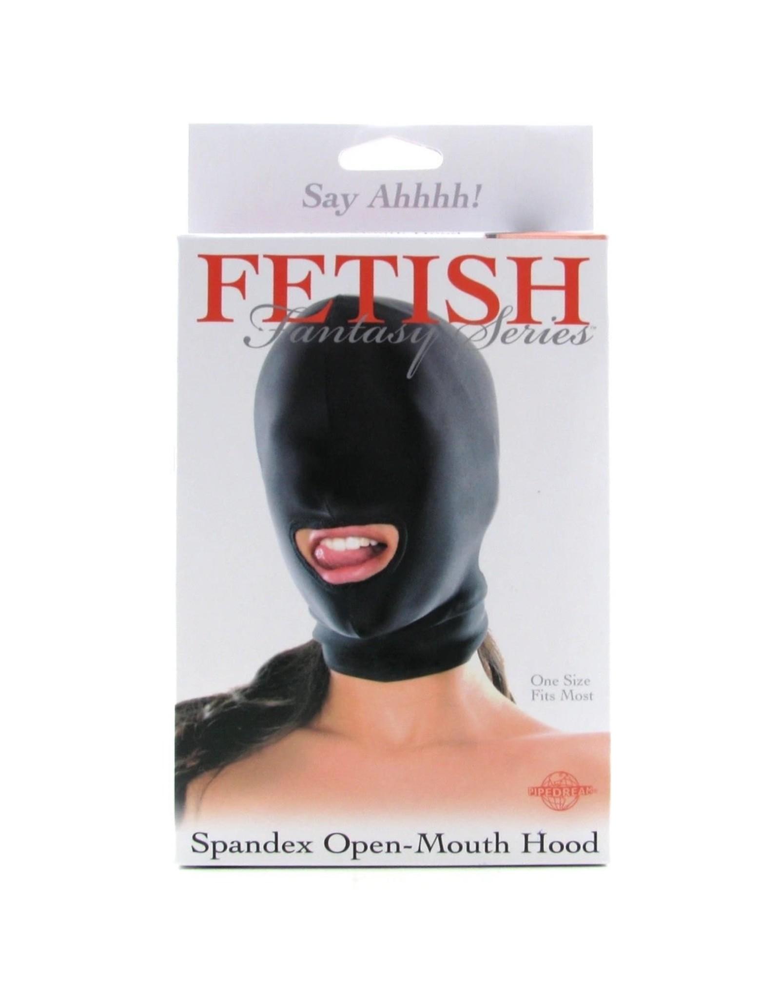 Fetish Fantasy Series Fetish Fantasy Spandex Open Mouth Hood