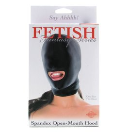 Fetish Fantasy Series Fetish Fantasy Spandex Open Mouth Hood