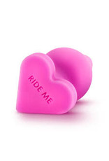 """Naughtier Candy Hearts - """"Ride Me"""" Anal Plug"""