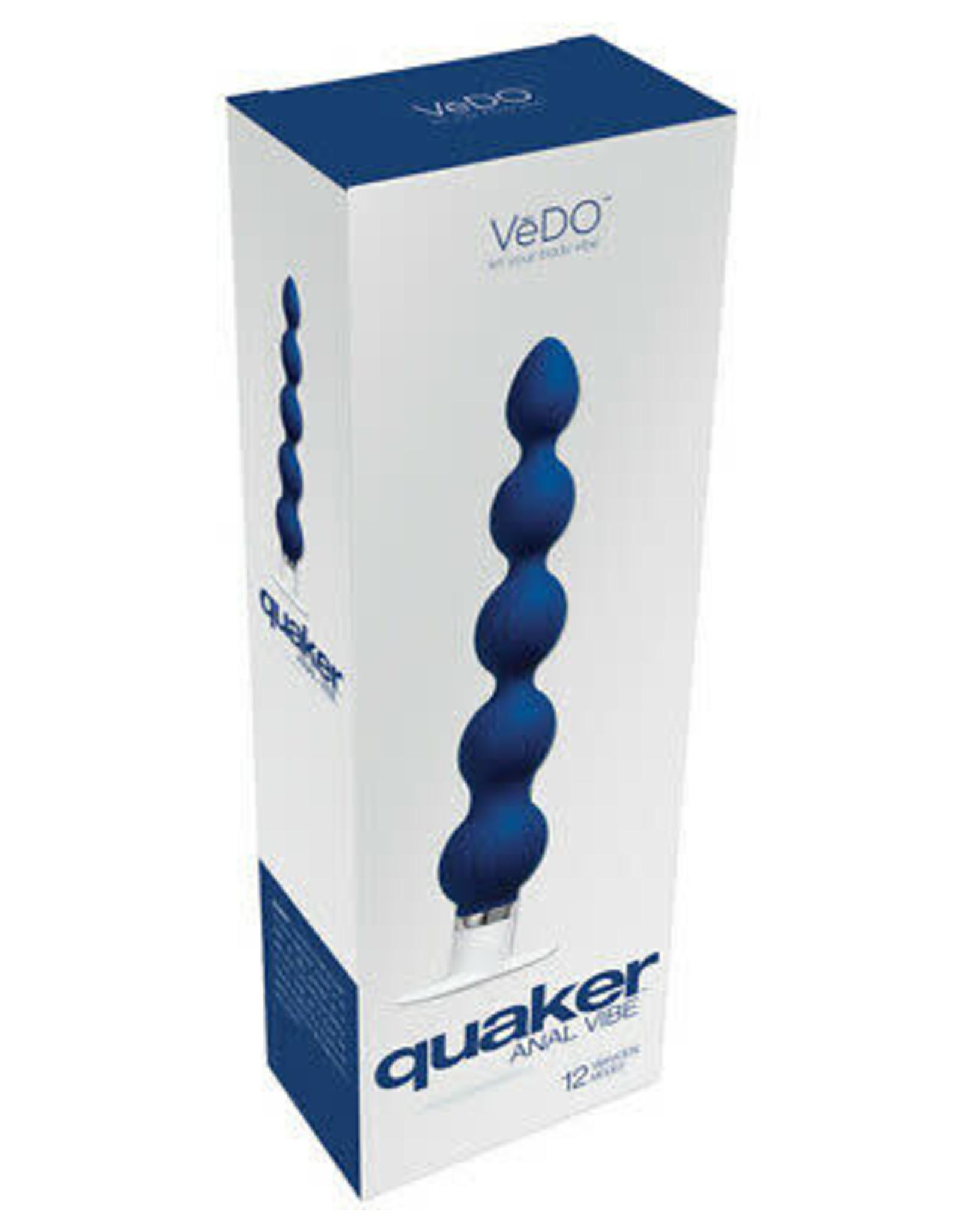 VEDO Quaker Anal Vibe (Blue)