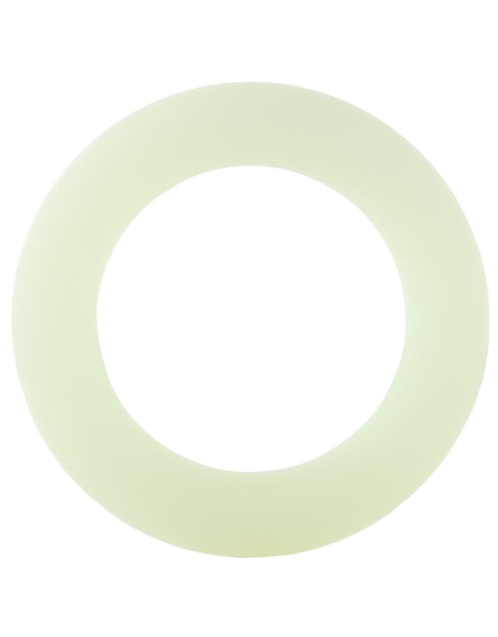 NSNOVELTIES Firefly Super Stretchable Halo Small Silicone Cock Ring (clear)