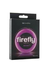 NSNOVELTIES Firefly Super Stretchable Halo Medium Silicone Cock Ring (purple)