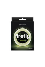 NSNOVELTIES Firefly Super Stretchable Halo Medium Silicone Cock Ring (clear)