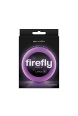 NSNOVELTIES Firefly Super Stretchable Halo Large Silicone Cock Ring (purple)