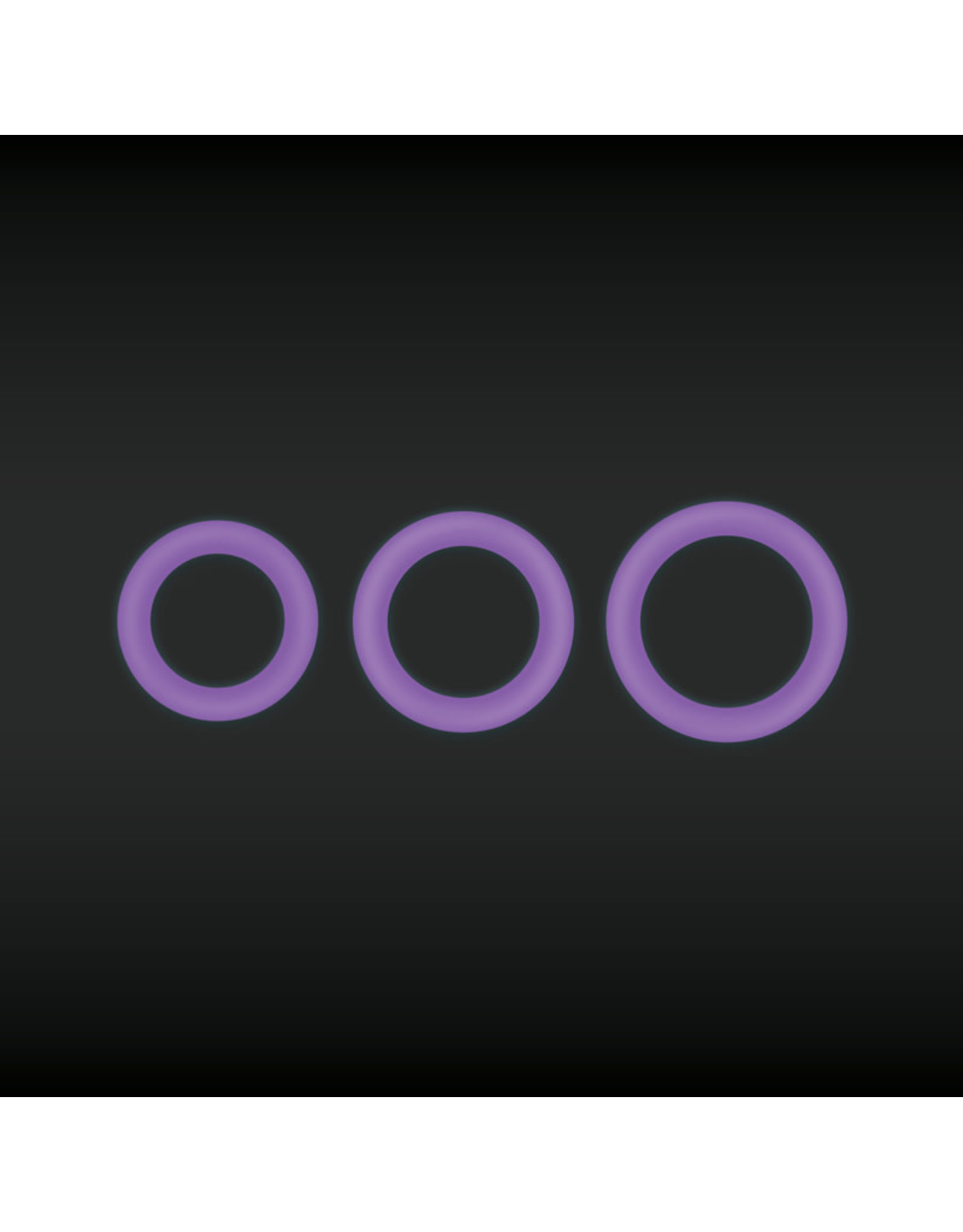 NSNOVELTIES Firefly Super Stretchable Halo Small Silicone Cock Ring (purple)