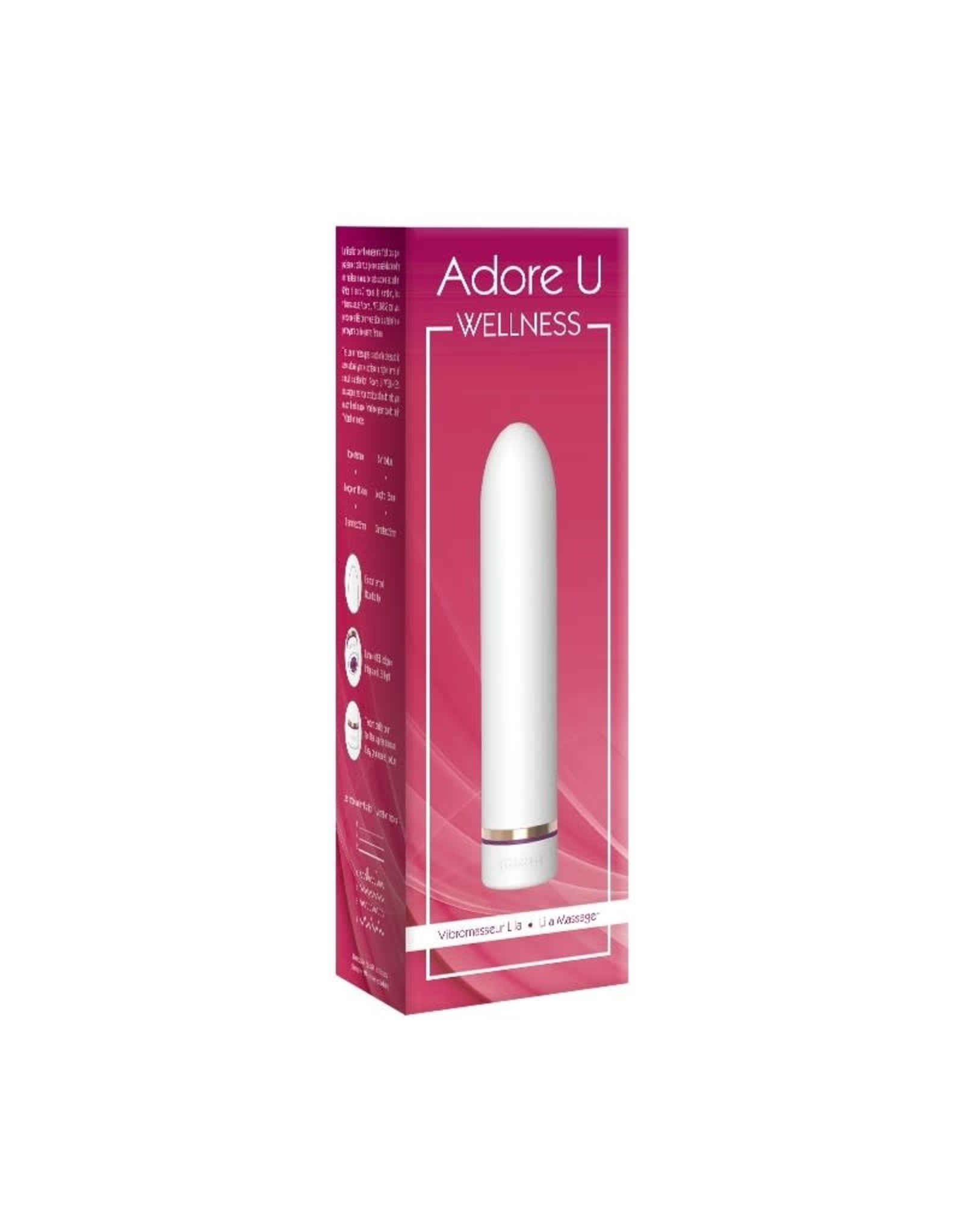 Adore U Adore U Wellness Lila Massager