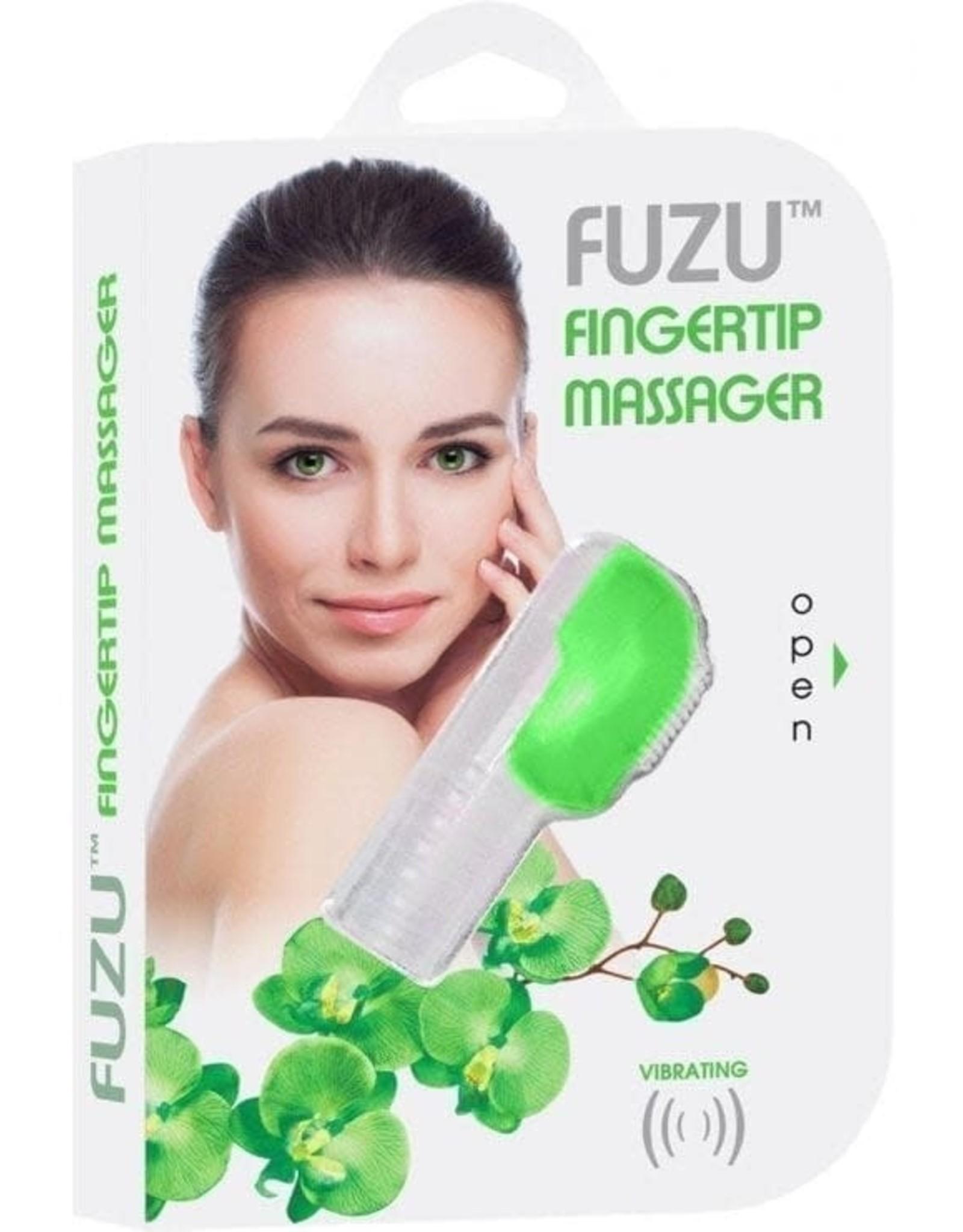 Fuzu Fuzu Finger Massager (Green)