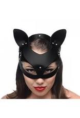 Bad Kitten Leather Cat Mask