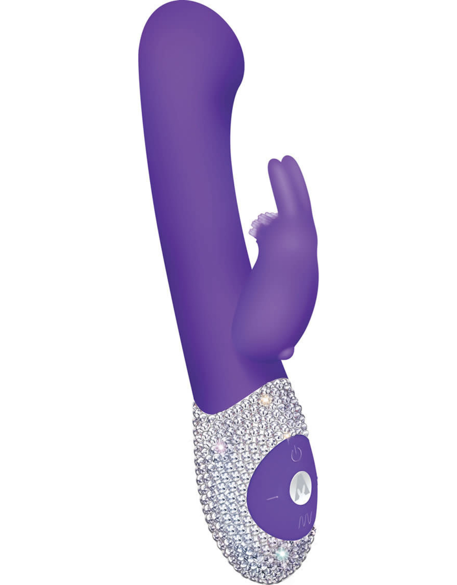 The Rabbit Company The G-Spot Rabbit Crystalized Edition in Purple