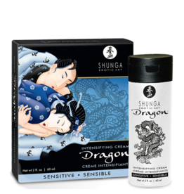 Shunga Shunga - Dragon Intensifying Cream - Sensitive 2oz/60ml