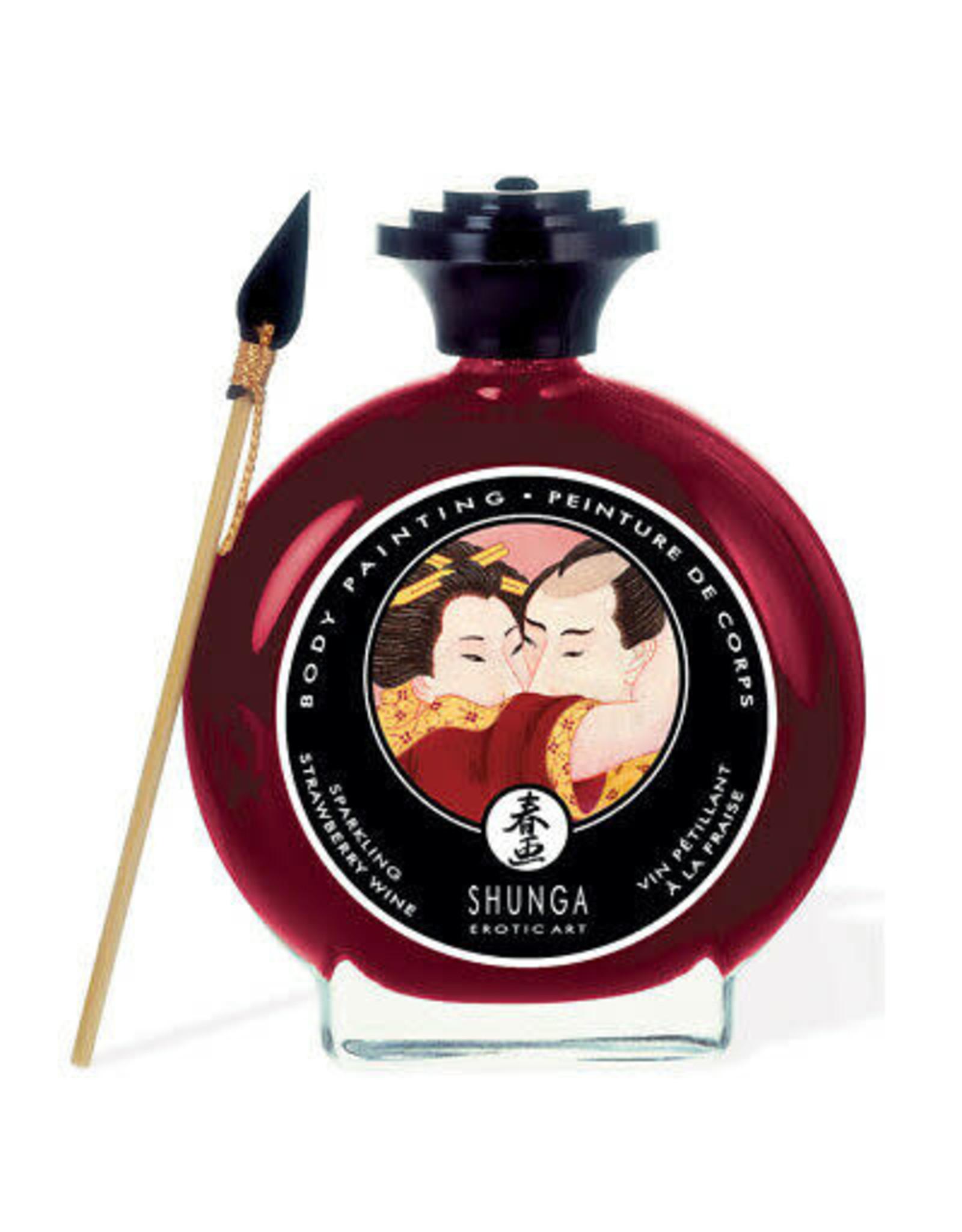 Shunga Shunga Body Painting - Sparkling Strawberry Wine