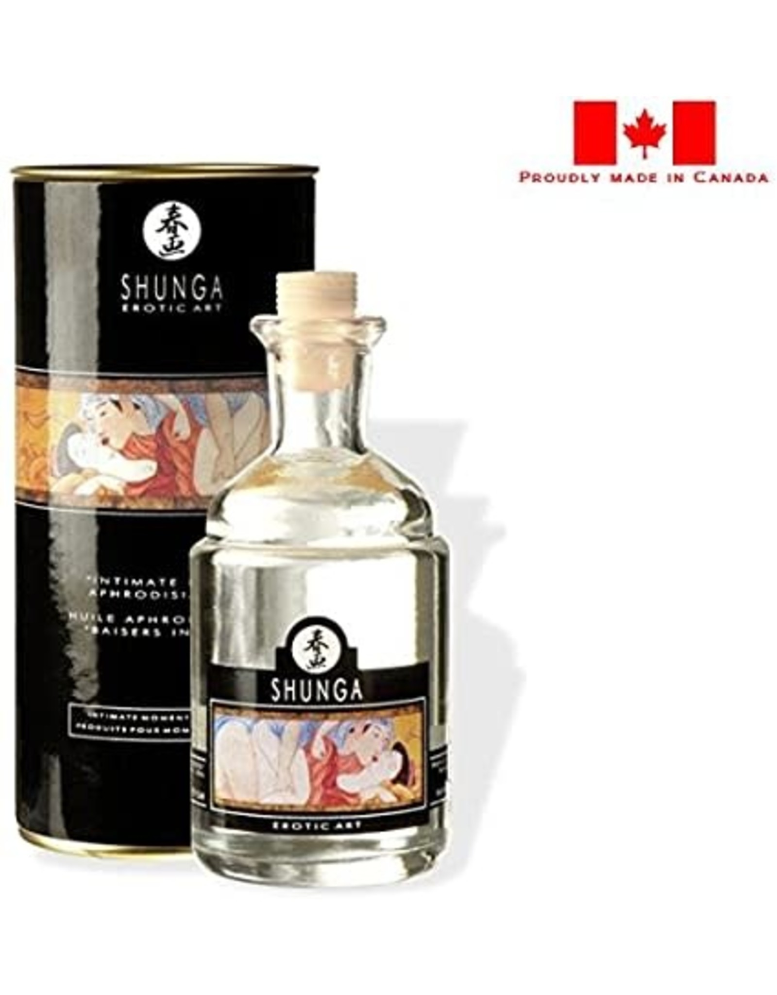 Shunga Shunga Intimate Kisses Aphrodisiac Oil-Vanilla Fetish