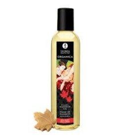 Shunga Massage Oil Organic Maple Delight