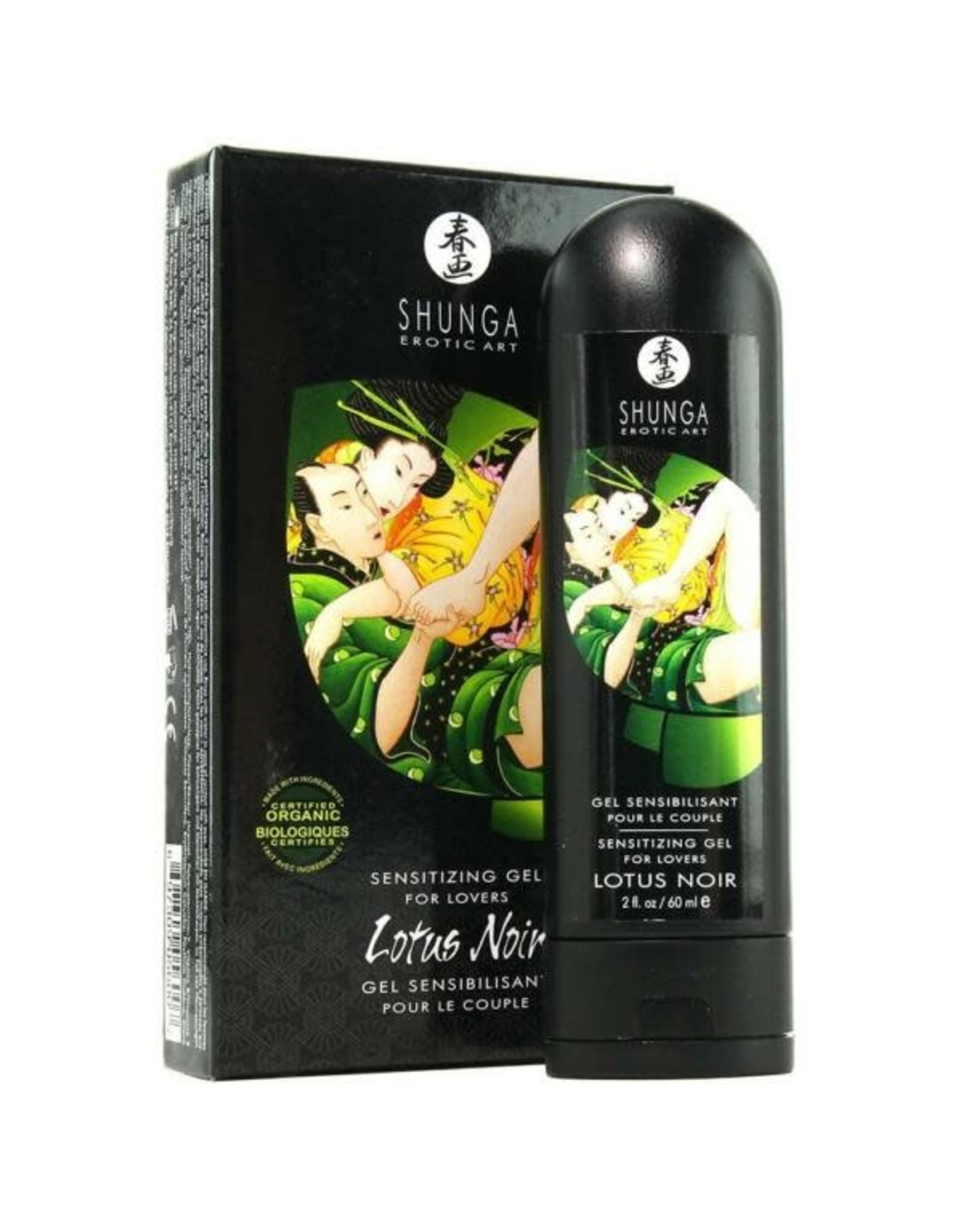 Shunga Shunga - Lotus Noir - Sensitizing Gel for Lovers 2oz/60ml