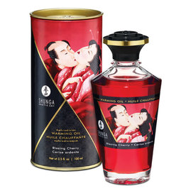 Shunga Shunga Kissable Oil Blazing Cherry 3.5 fl Oz