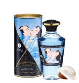 Shunga Aphrodisiac Warming Oil in Coconut Thrills